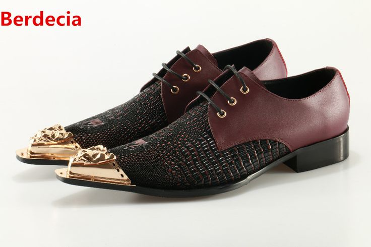 Italian mens shoes Berdecia brands gold iron toe alligator shoes for men dress wedding loafers crocodile skin designer shoes men-in Formal Shoes from Shoes on Aliexpress.com | Alibaba Group