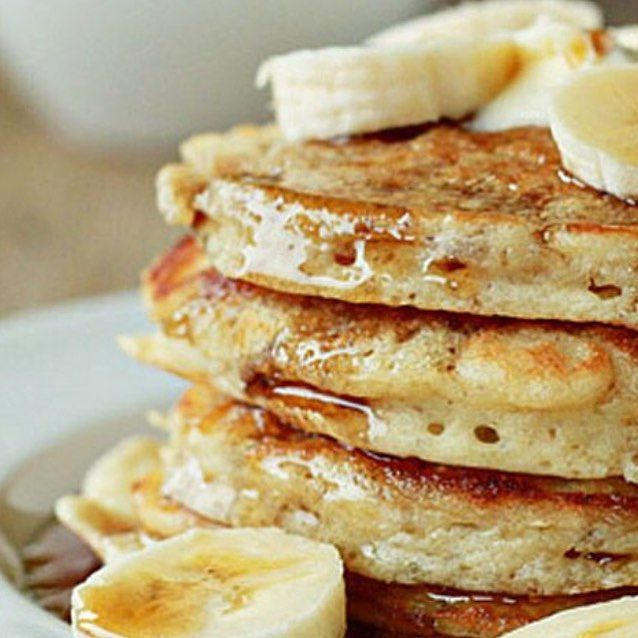 I made egg oat and banana pancakes today and they were delicious - side note this is not a picture of them cause the ones I made looked like rubbish  #bananapancakes #firstattempt #healthy #typeone #bg #diabetes #diabetesna #diabetesbabe #diabetestype1 #diabetesawareness  by diabetic_babe
