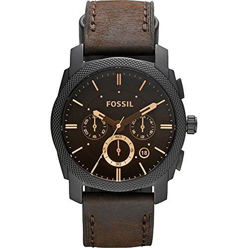 Men's Wrist Watches - Fossil Mens FS4656 Analog Watch with Brown Band * Click on the image for additional details. (This is an Amazon affiliate link)