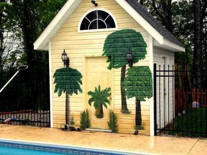 Pool Side Mural