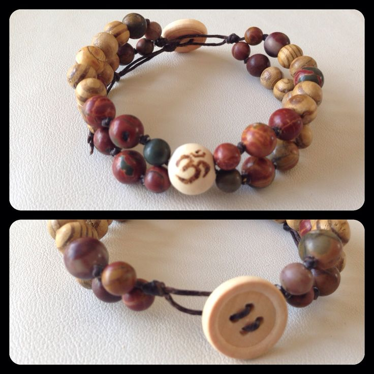 Essential Oil Infusible Mantra Bracelet. Hand-knotted. https://www.facebook.com/JediJewellery