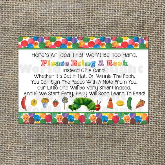 77 best images about hungry caterpillar baby shower on pinterest, Baby shower invitations