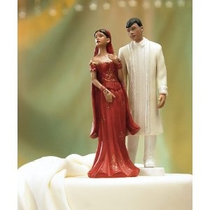 Indian Wedding cake toppers :)