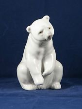 Lladro figurine POLAR BEAR RESTING #1208  no box