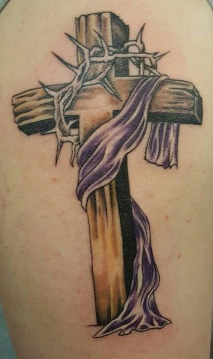 20 Catholic Cross Tattoos With Thorns Ideas And Designs
