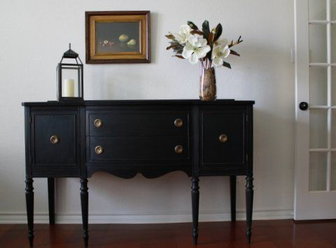 antique black sideboard 3