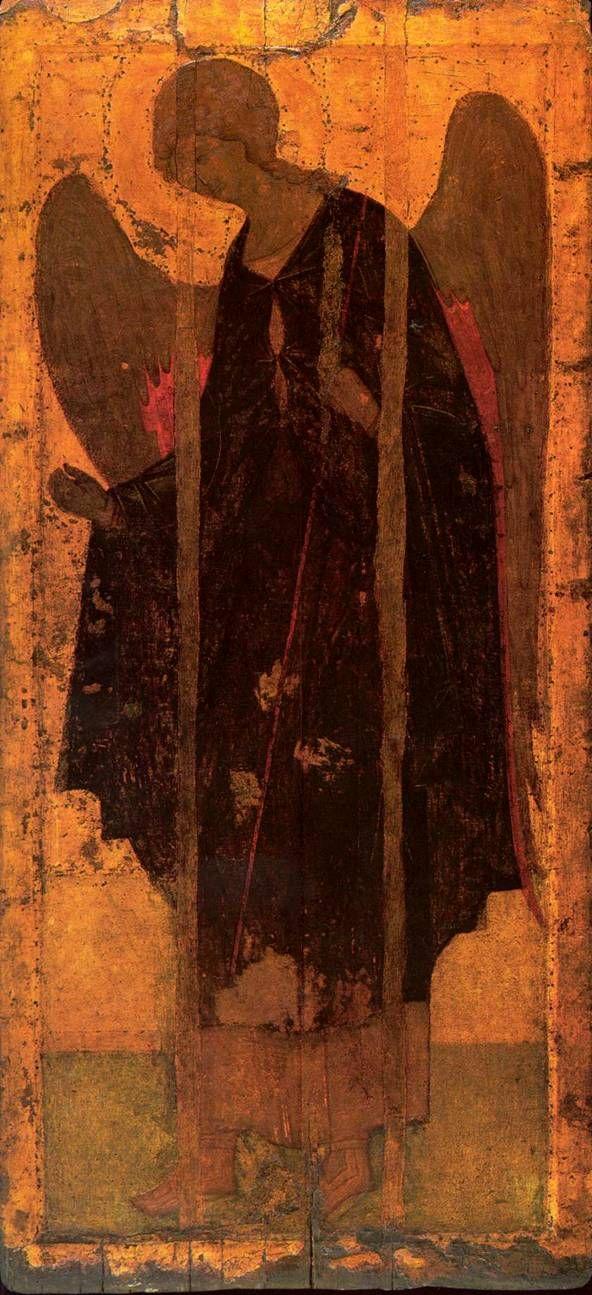 """Рублев. Архангел Гавриил. Rublev - """"Archangel Gabriel"""" year 1408"""