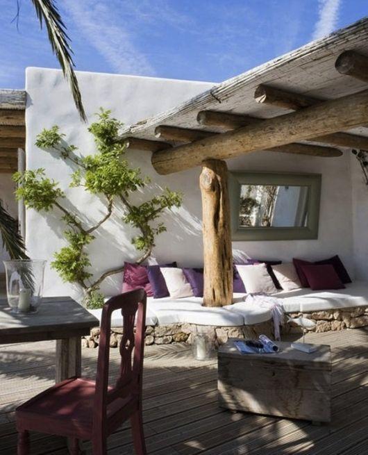 Formentera - The Balearic Islands Spain  <3: Terrace, Rustic Houses, Idea, Outdoor Living, Patio, Outside Spaces, Spanish Style, Outdoor Spaces, Outdoor Area