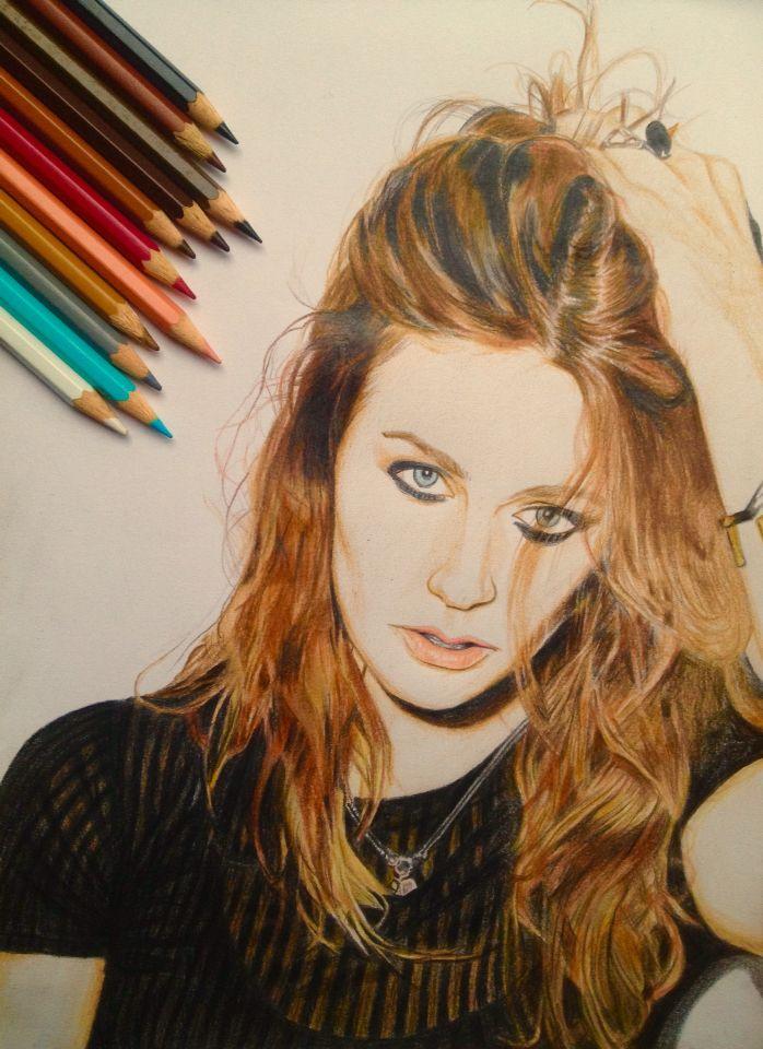 Tove Lo (colour pencils)
