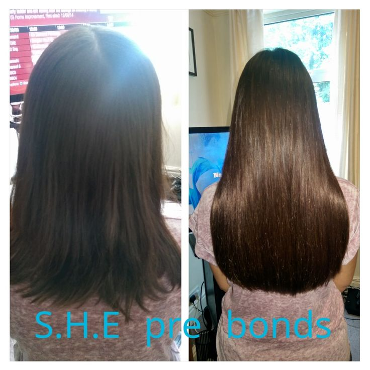 how to make pre bonded hair extensions