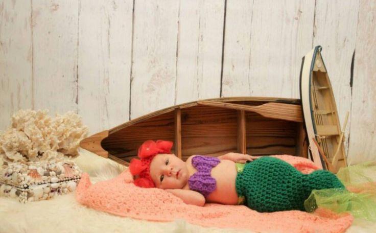 little mermaid  II crochet baby costume Ariel by nataliabodre on Etsy https://www.etsy.com/listing/192678903/little-mermaid-ii-crochet-baby-costume