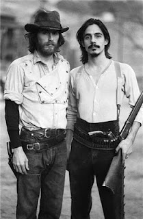 J.D. Souther and Jackson Browne were utterly gorgeous in this Henry Diltz photo from an Eagles album shoot.
