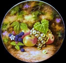 Royal Albert - Painted Fruit - Collector Plates www.royalalbertpatterns.com