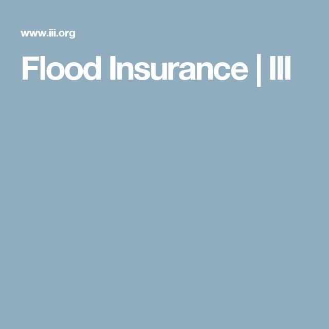 Flood Insurance | III
