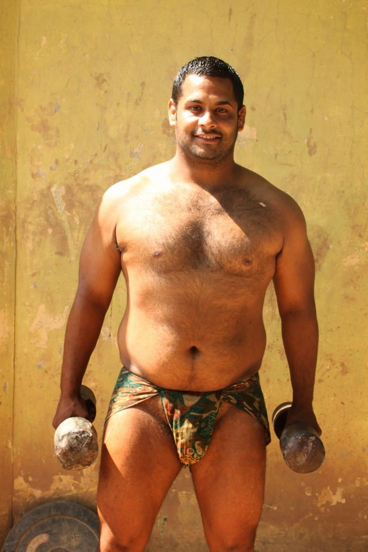 Bears Of India  Fideosycarnes  Woof Santo  Men  Bear Men, Beefy Men, Big -5723