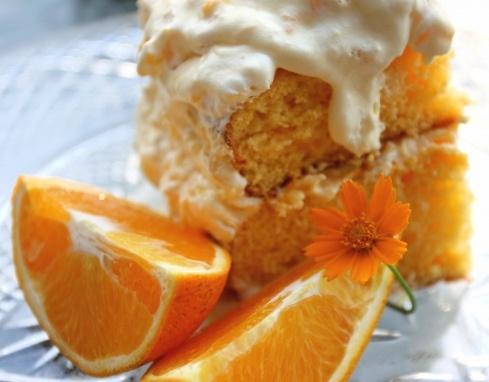 Weight Watchers Pineapple Orange Sunshine Cake