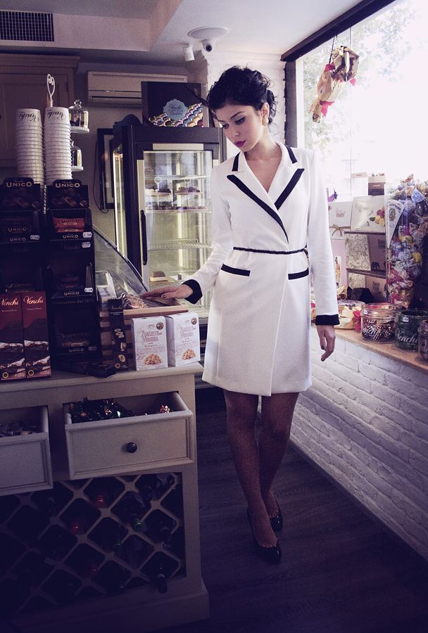 Maigre coat/dress http://www.facebook.com/MaigreBoutique