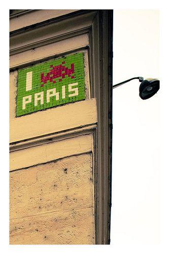 Space Invaders, Paris