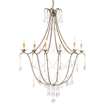 curry co lighting. The Graceful Wrought Iron Framework Has A Rich Rhine Gold Finish. This Six Light Fixture Is Part Of Lillian August Curry Co Lighting R