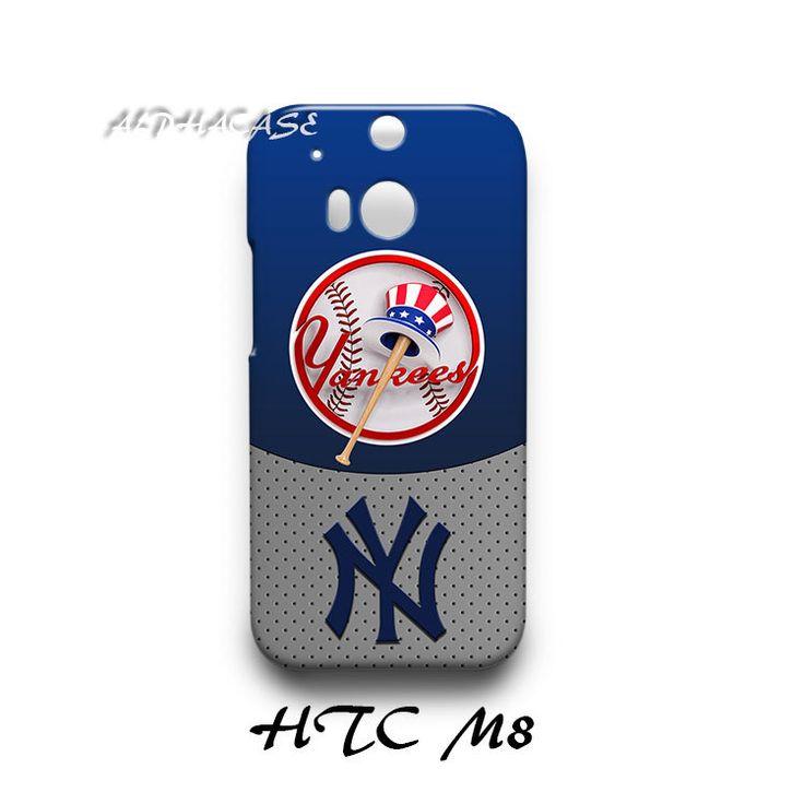 New York Yankees HTC M8 Hardshell Case Cover