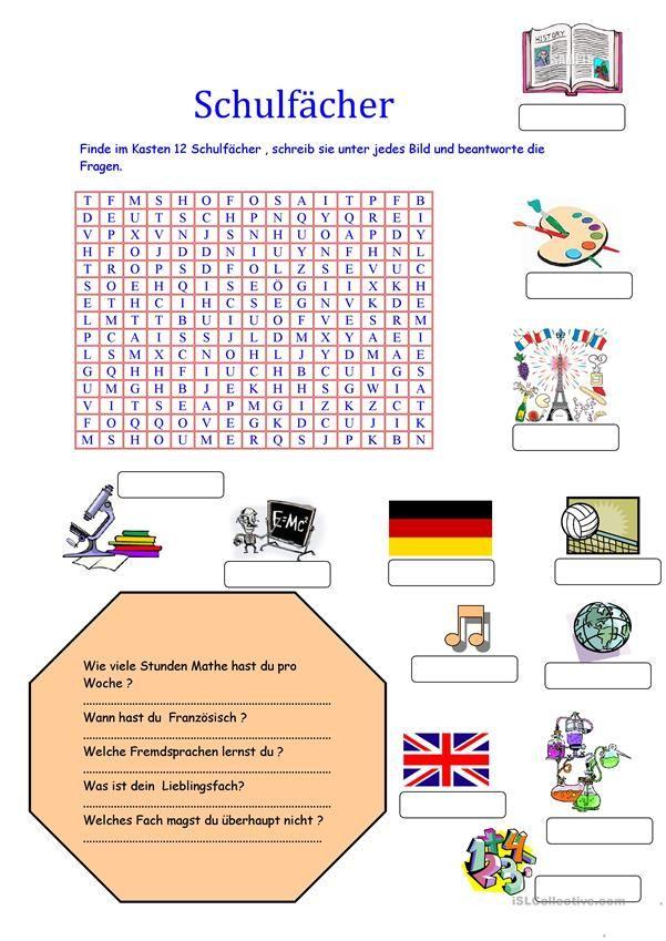 schulf cher german for kids german teaching materials. Black Bedroom Furniture Sets. Home Design Ideas