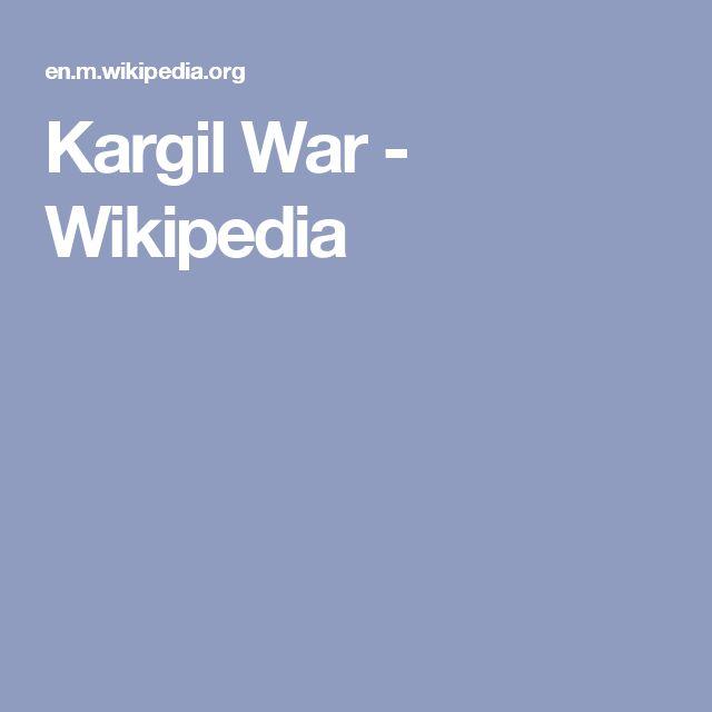 4/8/2017 KASHMIR: May–July 1999 Kargil War. Wikipedia.