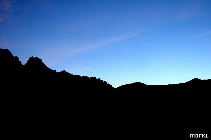 Drakensberg Silhouette