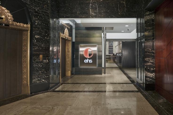 Exchange Building Lobby, EHS Front Door