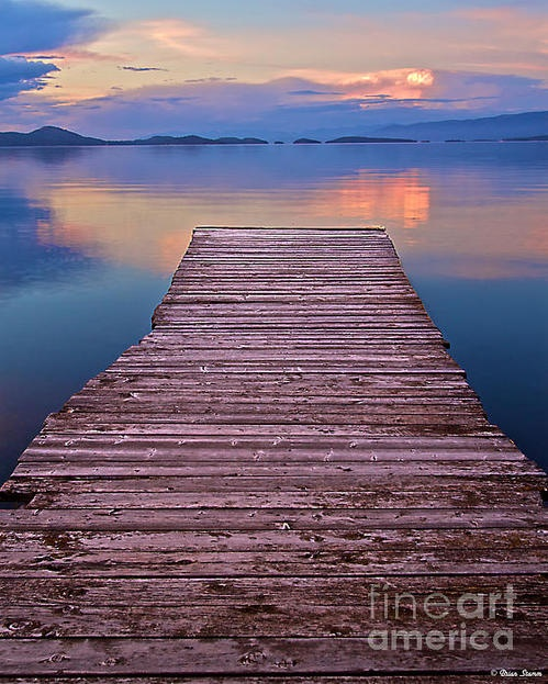 B-E-A-utiful! Flathead Lake in Montana