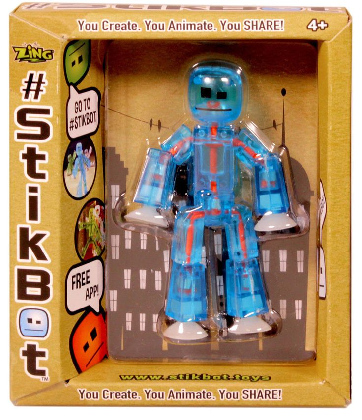 Individual StikBot | Kids Gadgets | Individual StikBot from BrightMinds UK