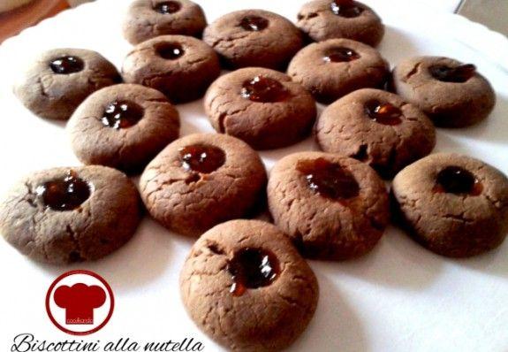 Biscottini alla nutella - Ricette - Cookkando In Cucina Facile FacileRicette – Cookkando In Cucina Facile Facile