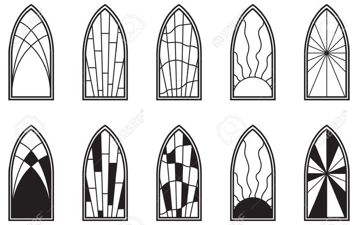 9653208-Vector-art-depicting-isolated-stained-glass-window-Stock-Vector.jpg (1300×819)