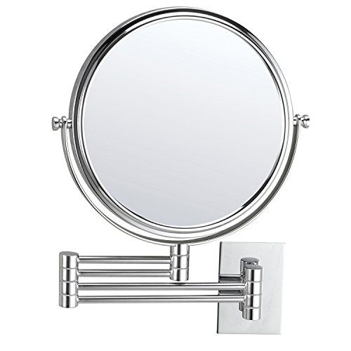 Anpean Wall Mounted Makeup Mirror 7x Magnification With 12 Inch
