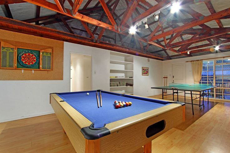 Self catering accommodation, Scarborough, Cape Town  Gamesroom  http://www.capepointroute.co.za/moreinfoAccommodation.php?aID=493