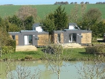 Glamping 'Luxe VIP Cottage' - camping Port'Land - Normandië - Port-en-Bessin - Frankrijk #luxurious #Vacansoleil #glamorous #kamperen