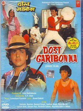 Dost Garibon Ka Hindi Movie Online - Govinda, Neelam, Sumeet Saigal, Raza Murad, Satish Shah, Anjana Mumtaz and Vijay Arora. Directed by C.P. Dixit. Music by Laxmikant Pyarelal. 1989 [A]