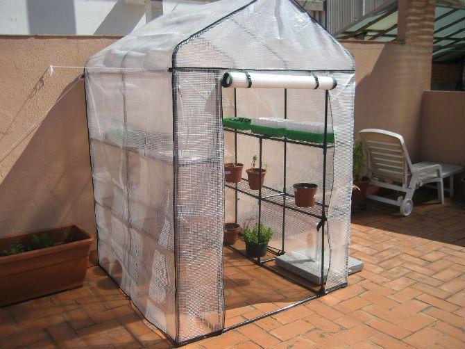 Las 25 mejores ideas sobre invernadero casero en - Invernadero para casa ...