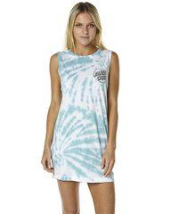 SANTA CRUZ KEYLINE WOMENS MUSCLE DRESS - WHITE WATER