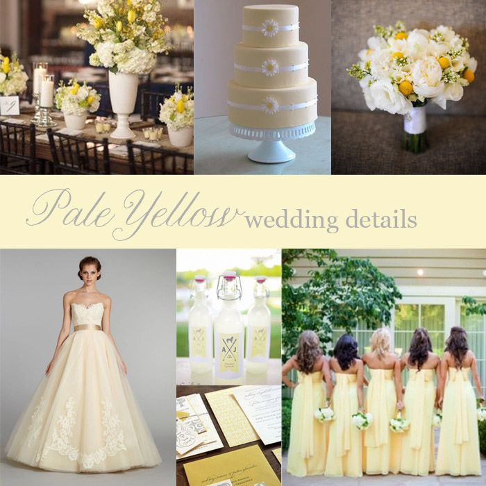 Springtime and PALE YELLOW go together like a bride and groom! Check out some featured wedding details in this sunny color. Blog post by Boston Wedding Planner Donna Kim of The Perfect Details