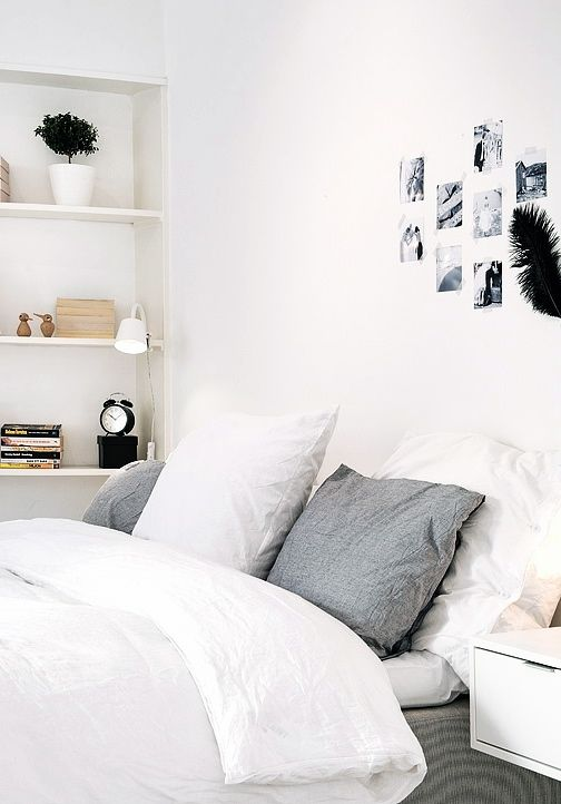 Via NordicDays.nl | White Alvhem Home | Black and White ❥