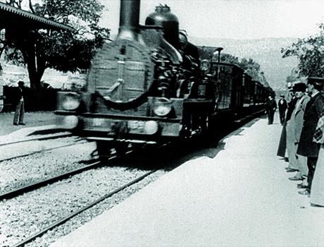 L'arrivo di un treno alla stazione di La Ciotat - Fratelli Lumière 1896