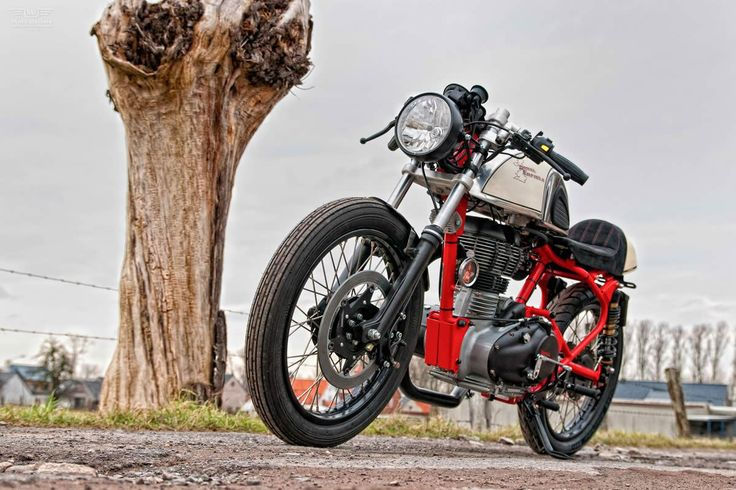 Royal Enfield cafe racer T-Factor Bikes