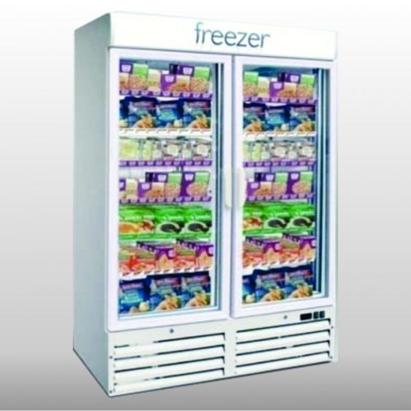 Double Glass Freezer | Freezer Rental | Rent4Expo.eu