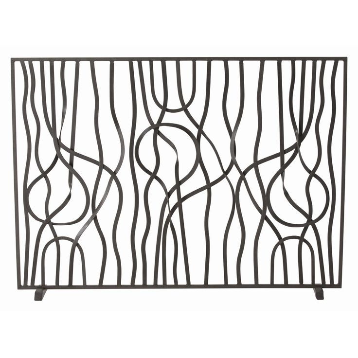 Fireplace Design brushed nickel fireplace screen : 64 best Fireplace Screens images on Pinterest