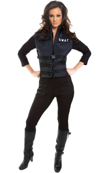 Female Swat Costume   Jokers Masquerade