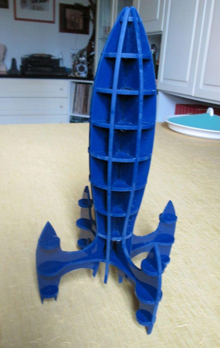Rocket ---- Fai da te - hobby legno - 3d model su Facebook.com
