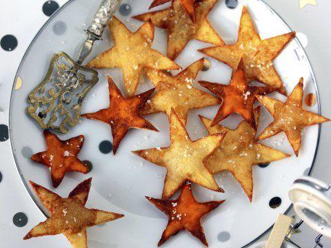 Sterretjes van aardappel en zoete aardappel - Libelle Lekker. Serveer dit jaar eens iets anders dan kroketten!