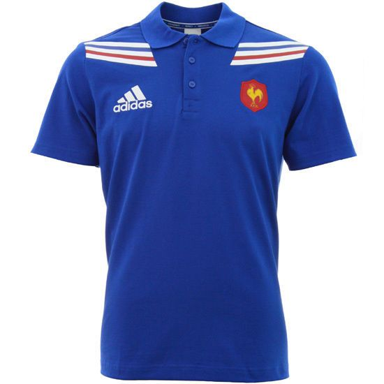 Details about France Rugby Polo Shirt (M) | World Cup