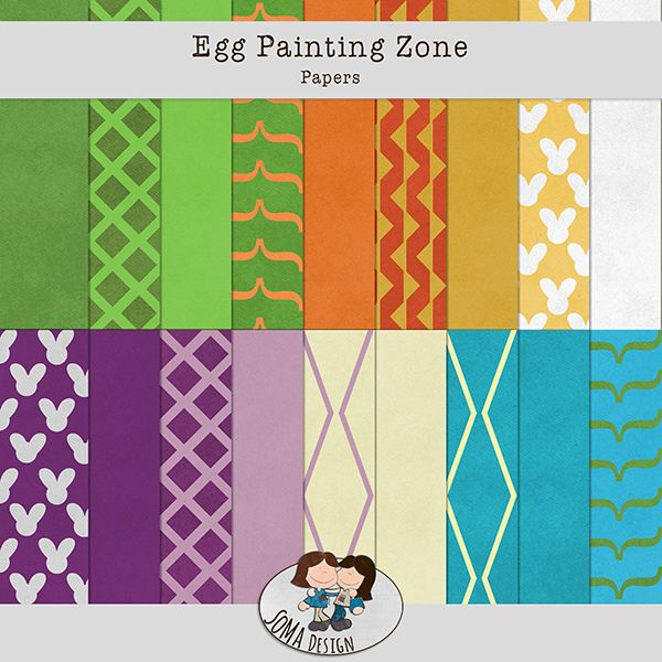 Oscraps.com :: Shop by Category :: All New :: SoMa Design Egg Painting Zone Kit