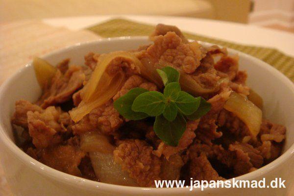 Japanske opskrifter hos Japanskmad - Gyodon